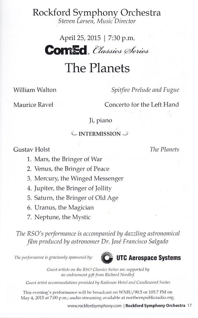 R Symphony Planets 1