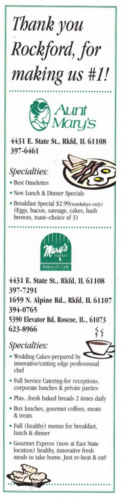 Aunt Mary's
