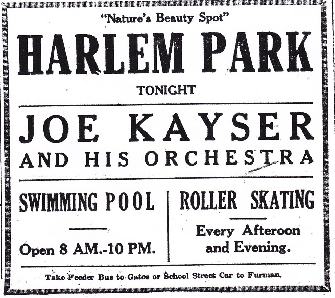 Harlem Park 1923