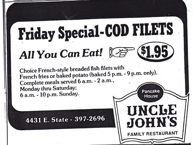 Uncle John's Cod