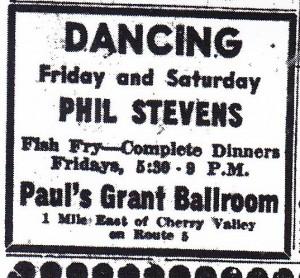 Paul's Grant Ballroom