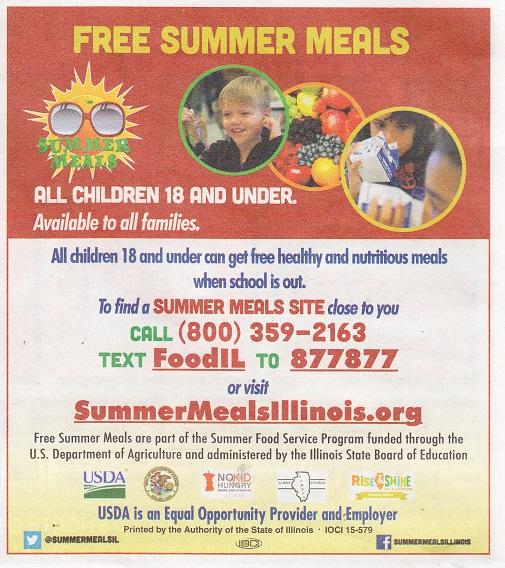 Summer MEals Illinois