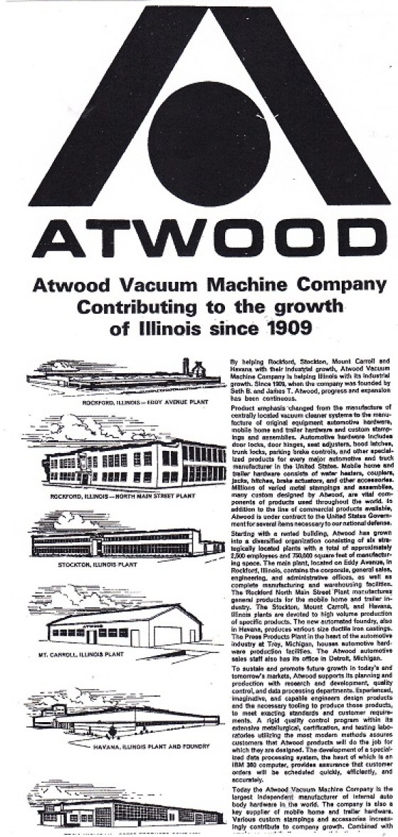 Atwood Vacuum Machine Co Rpl S Local History
