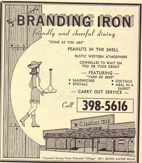 Branding Iron 1970