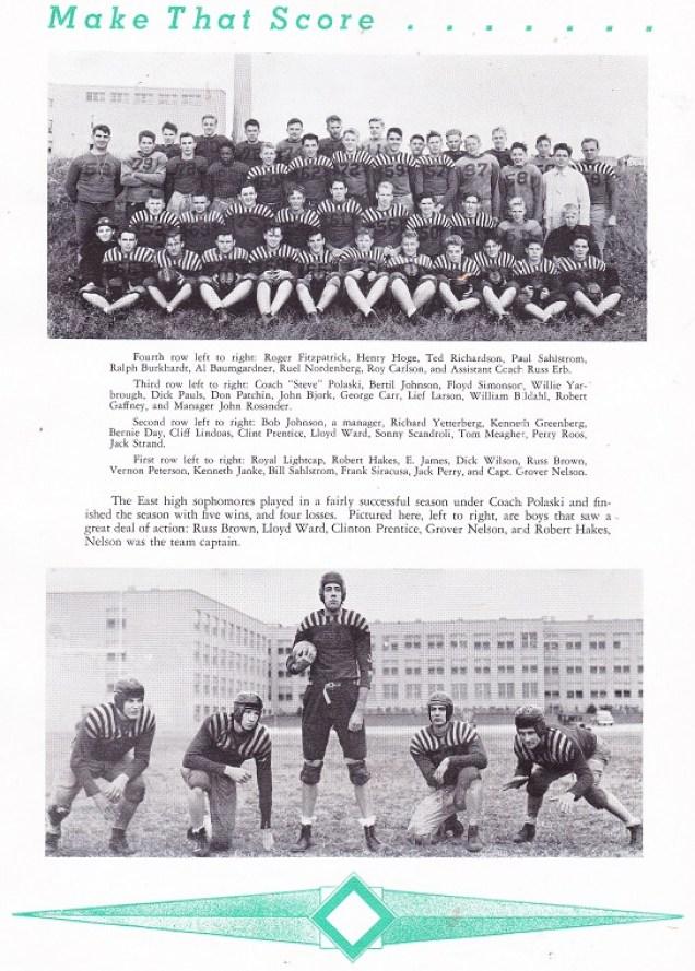 East football 1943