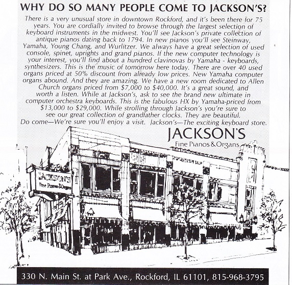 Jackson Piano