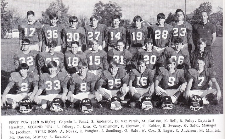 Lincoln 1966-67 Football Team