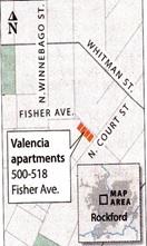 Map Valencia Apartments