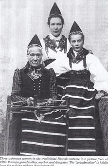 Swedish Raatvik Costume