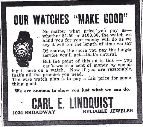 Lindquist watches