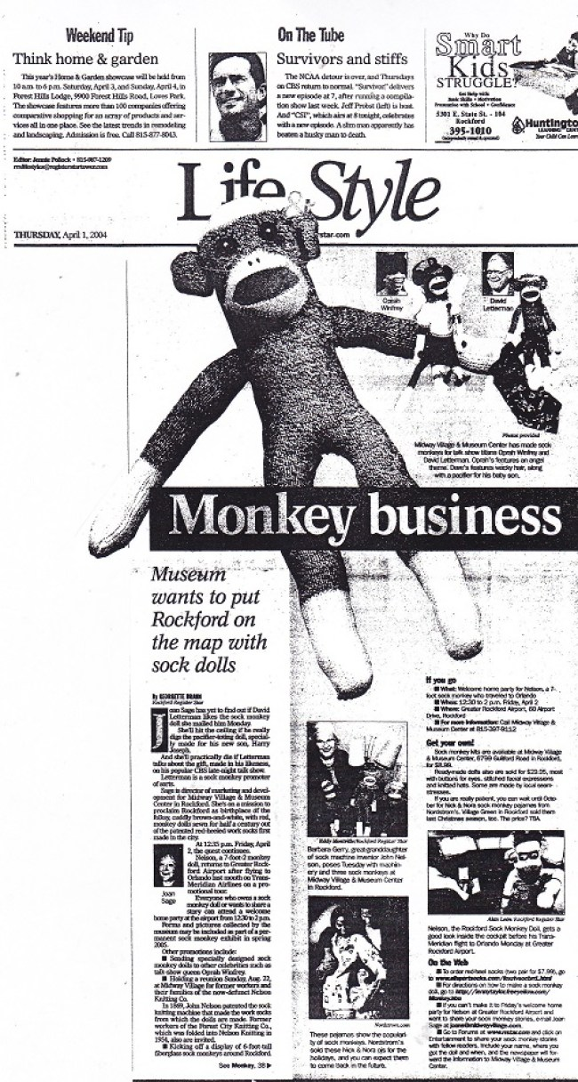 Monkey Business - 1