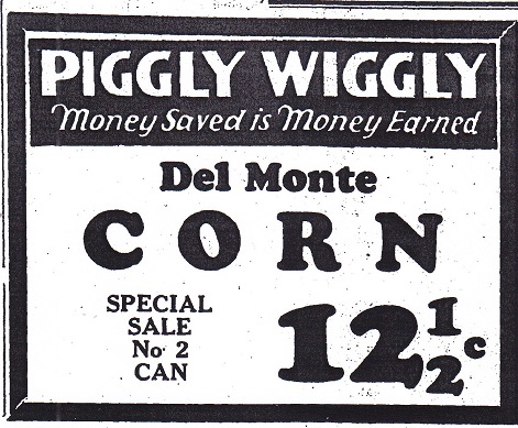Piggly Wiggly 1927