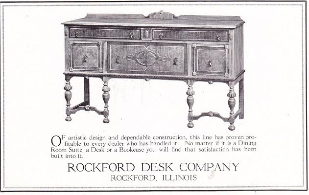 Rockford Desk 1925