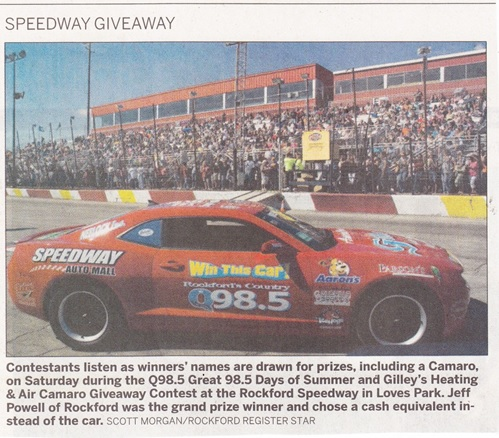 Rockford Speedway 98.5 Days of Summer