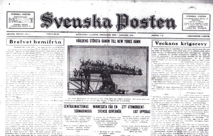 Svenska Posten - 1
