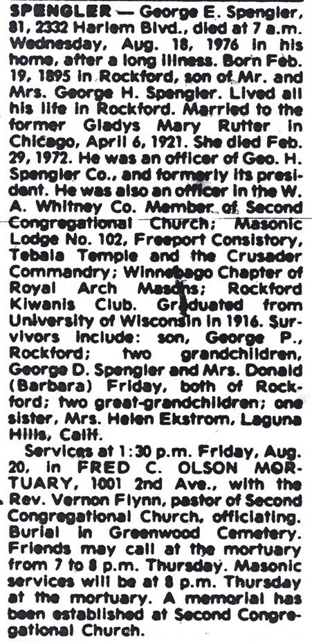 George E. Spengler