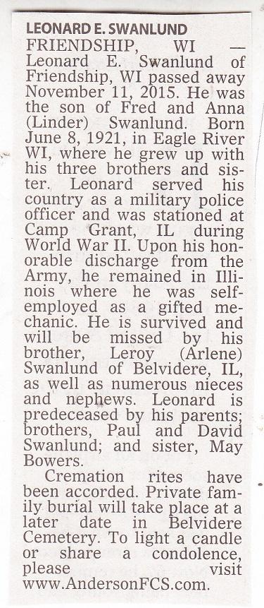 Leonard  Swanlund crop