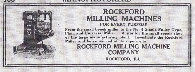 Rockford Milling Machine