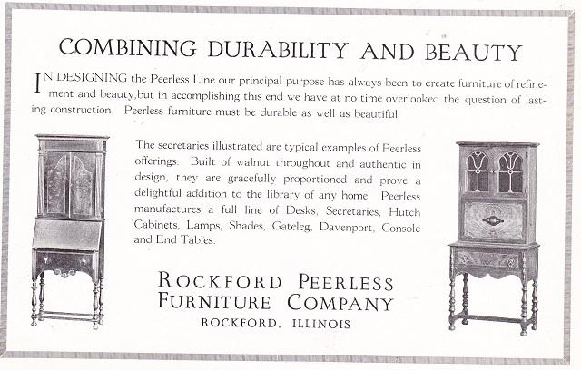 Superior Rockford Peerless Furniture Co., ...