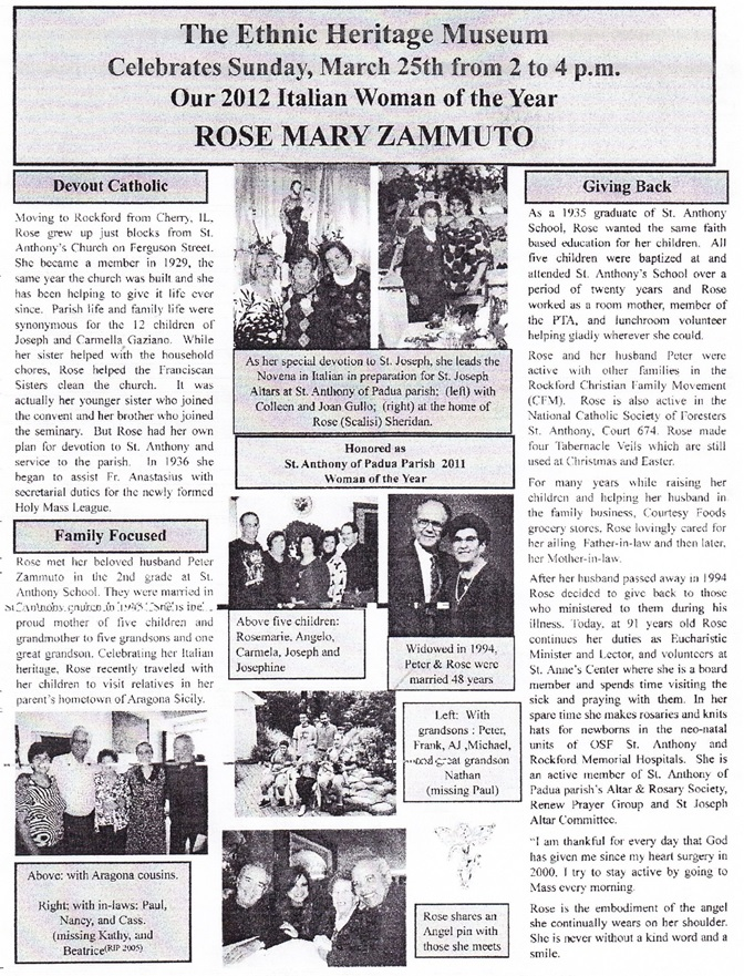 Rose Mary Zammuto