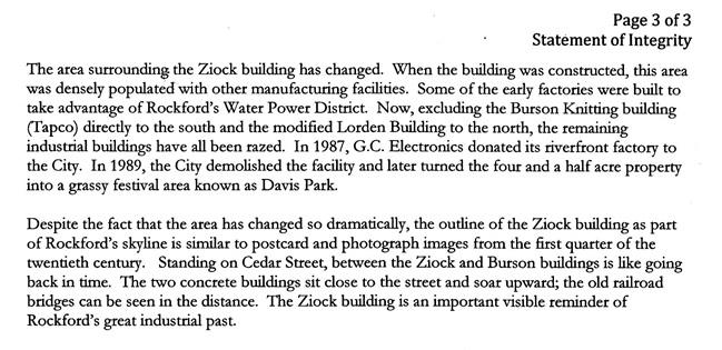 William Ziock Building