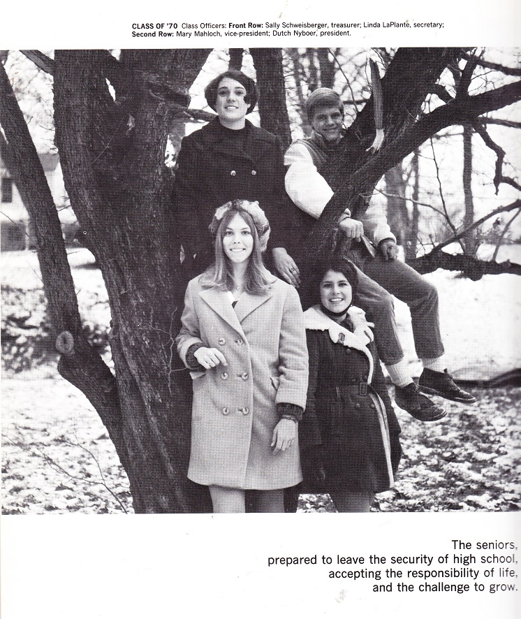 Guilford High School Officers 1970