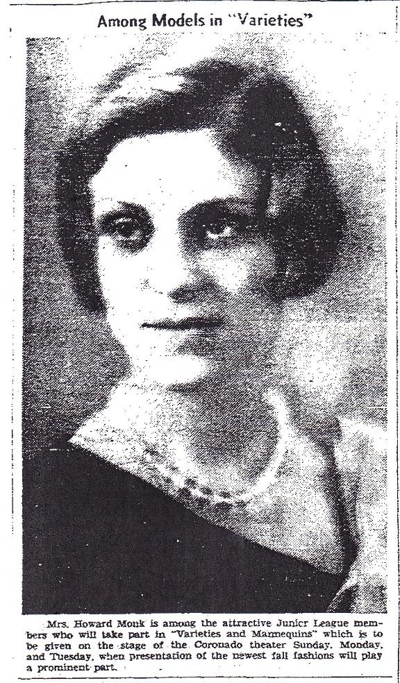 Mrs. Howard Monk - 2