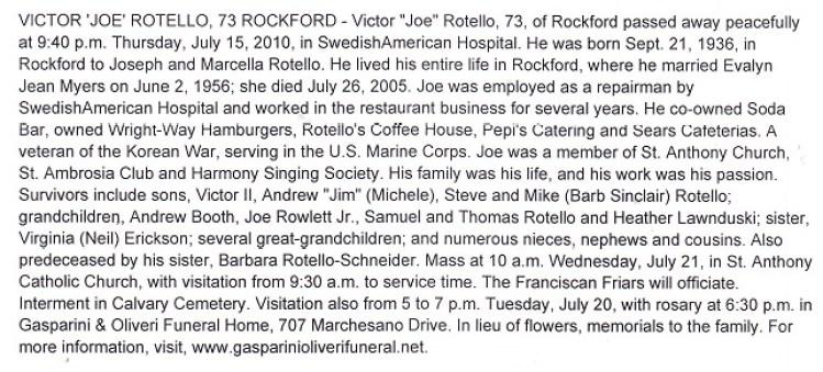 Victor Joe Rotello