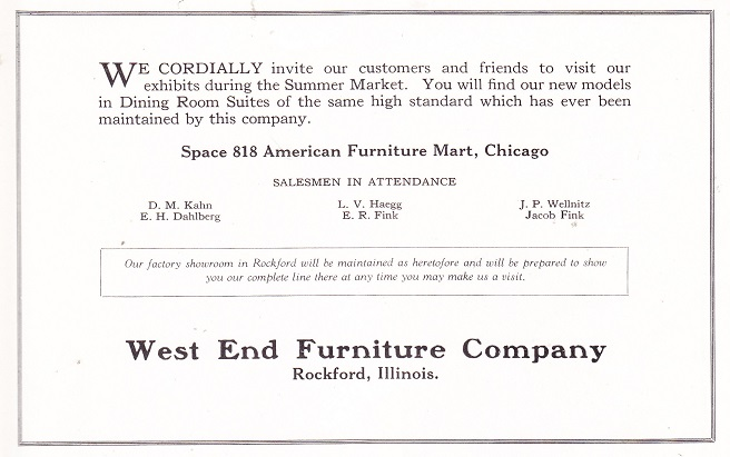 West End Furniture Co.