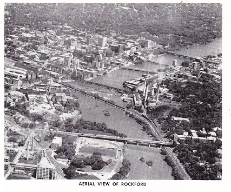 Aerial View of Rockford