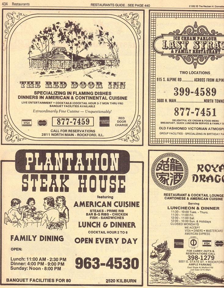 Restaurants - A