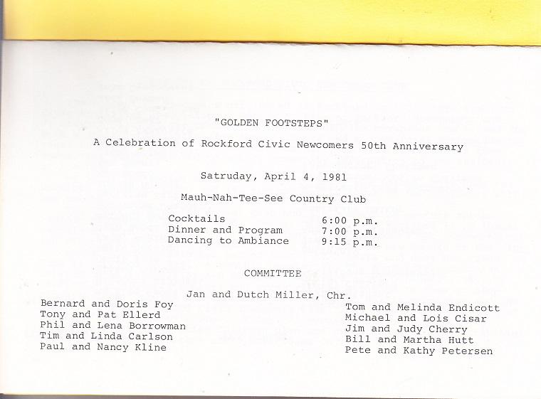 Rockford Civic Newcomers - 1