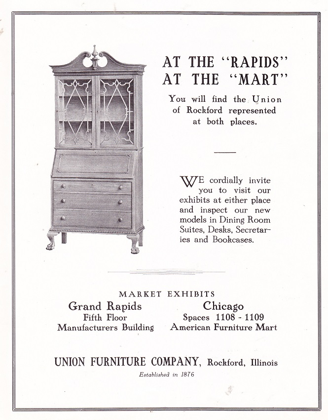 Union Furiniture 1925
