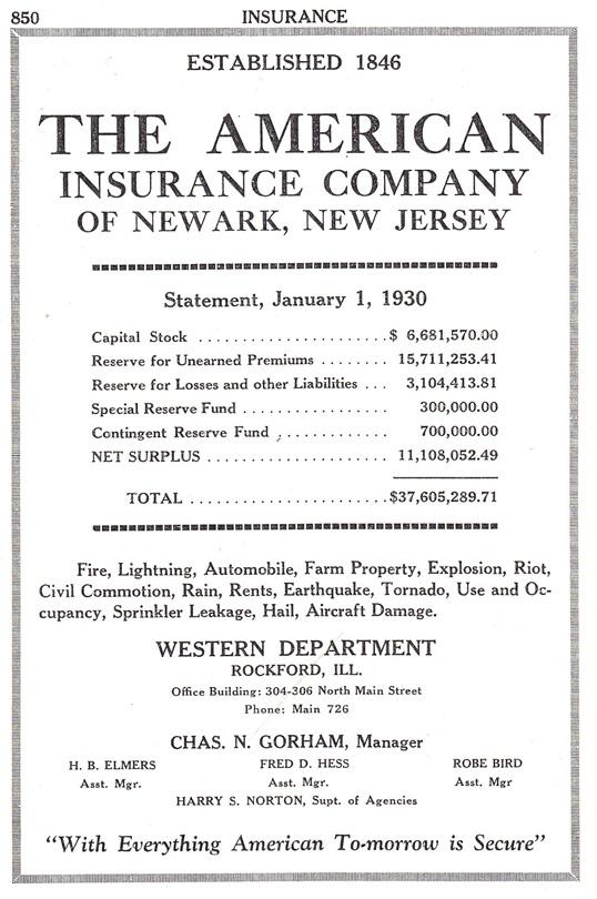 American Insurance Co.