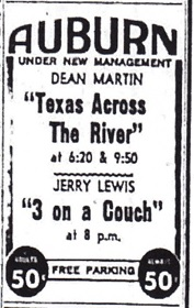 Auburn Theatre Texas Across the River