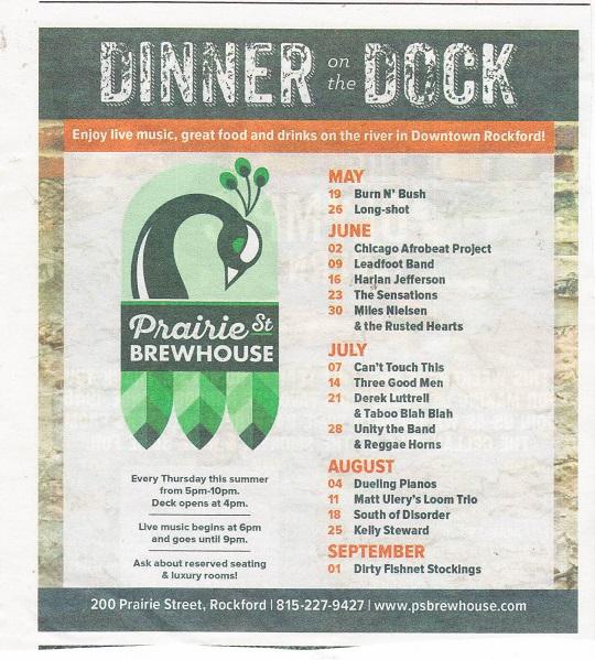 Dinner on the Dock 2016