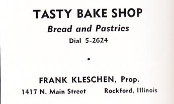 Tasty Bake Shop ad