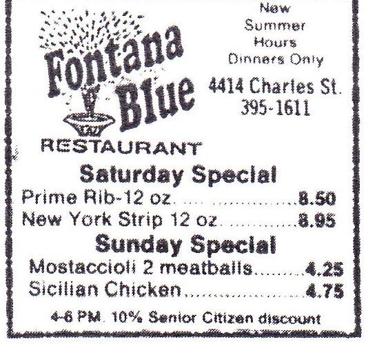 Fontana Blue