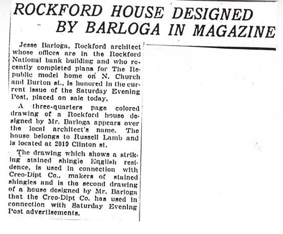 Rockford house - 1