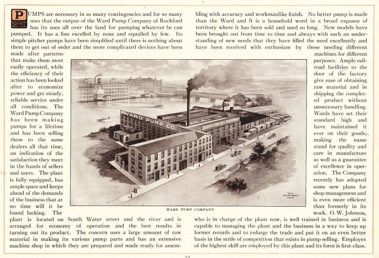 Ward Pump 1912