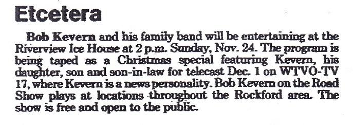 Bob Kevern Band - 2