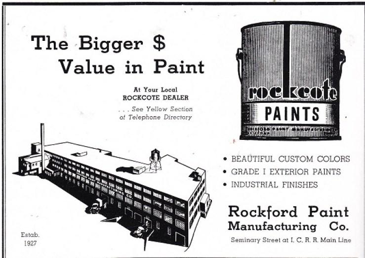 Rockford Paint Mfg