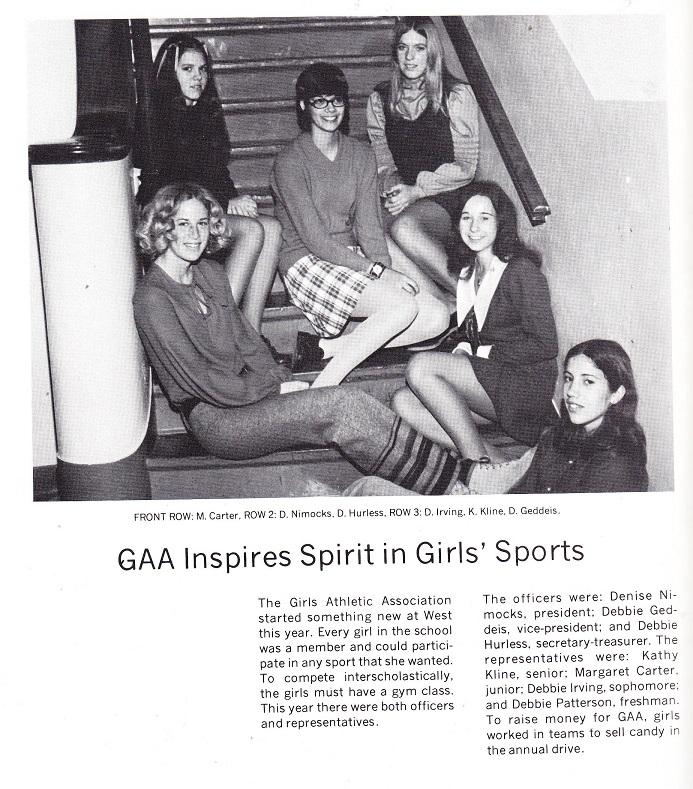 West HS GAA 1972