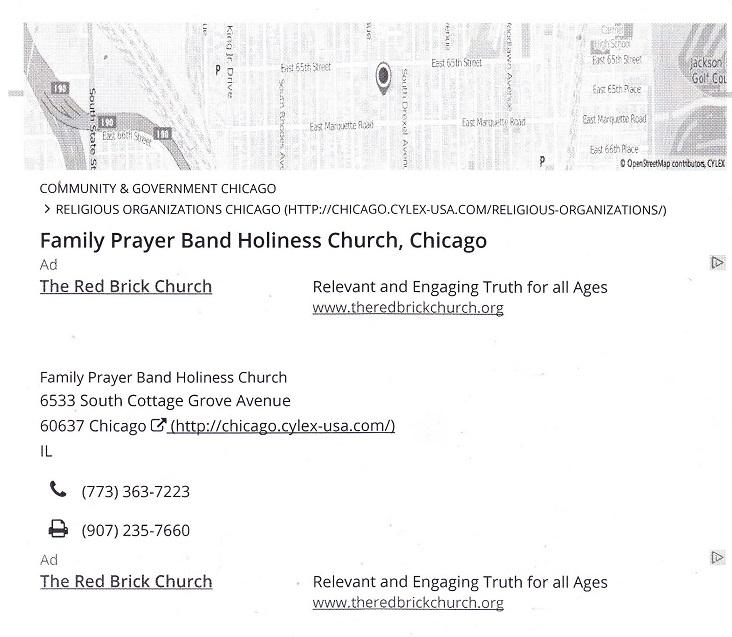 Family Prayer Band
