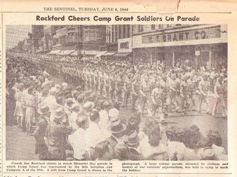 Memorial Day Parade CG