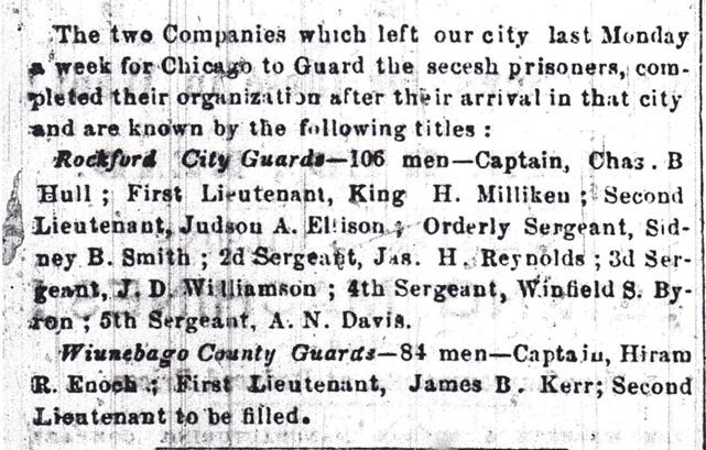 Winnebago County Guards