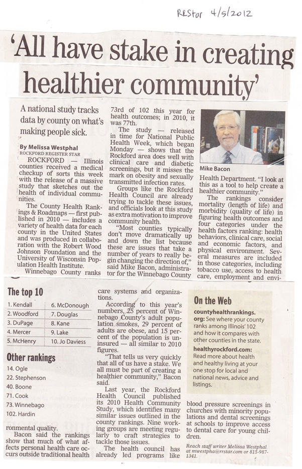 Winnebago County Health