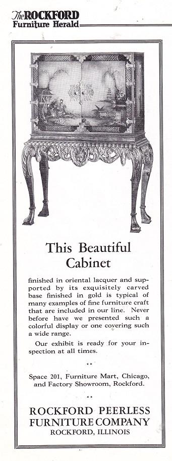 Wonderful Rockford Peerless Furniture Co.