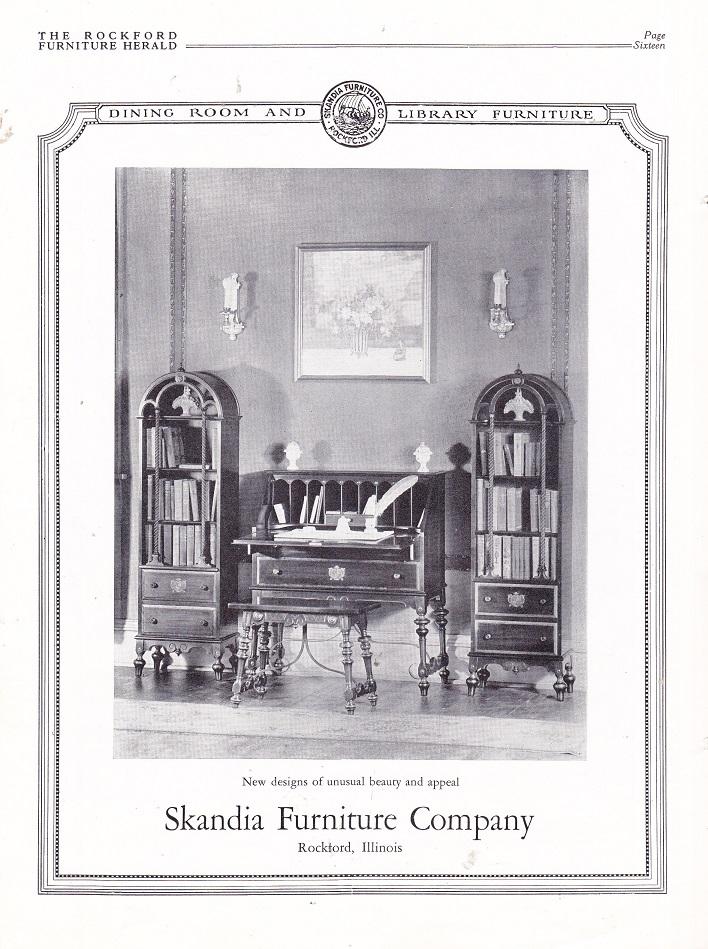 Skandia Furniture Co., Ad U2013 July 1926