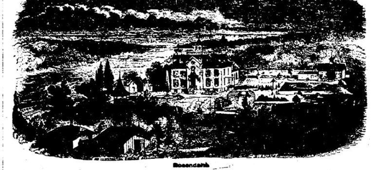 "Swedish ""Water Cure"" Resort Here 1870"